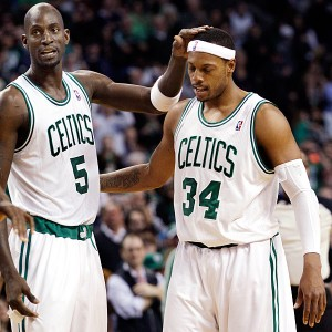 Boston pride: KG e Pierce