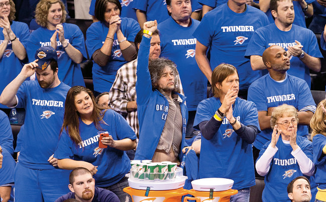 """Thunder Up"", Coyne!"