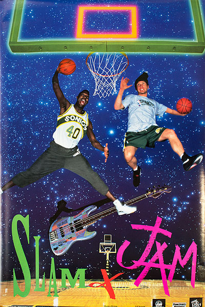 Shawn Kemp x Jeff Ament