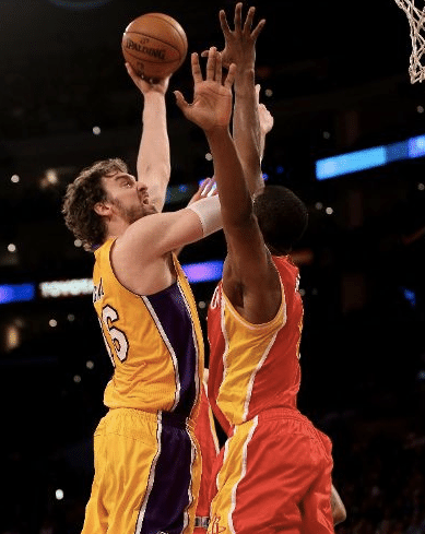 Gasol, em grande fase novamente, aleluia