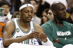 Paul Pierce + Kevin Garnett