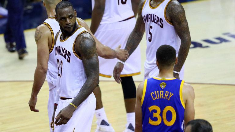 LeBron está adorando o desenrolar das #NBAFinals