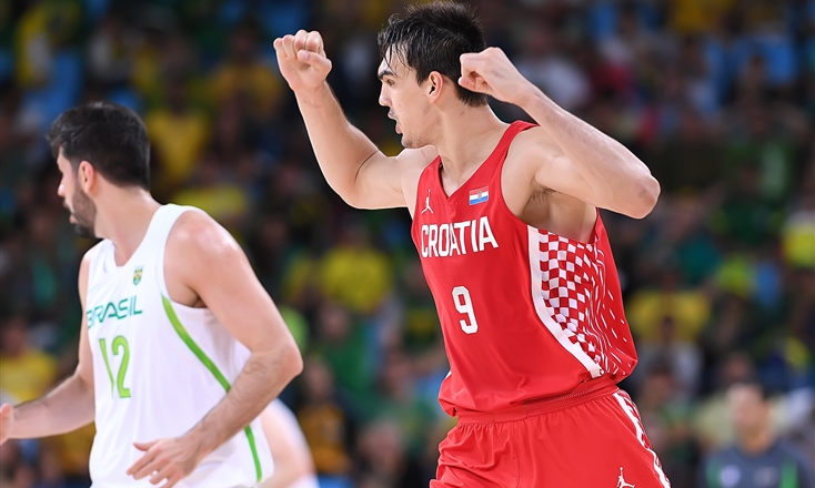 Saric, astro emergente do basquete europeu