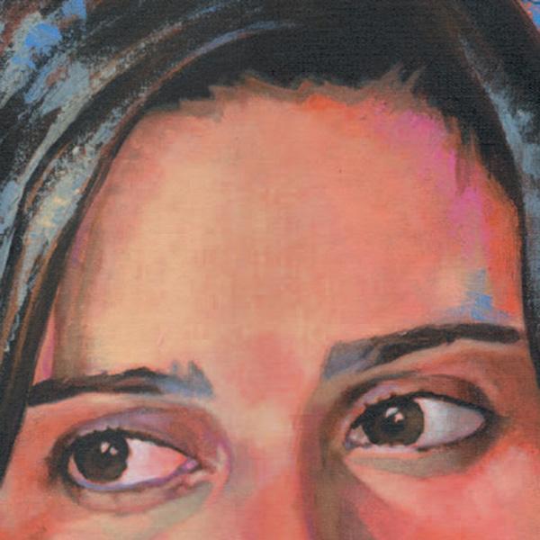 detalhe do retrato de luciana paixão