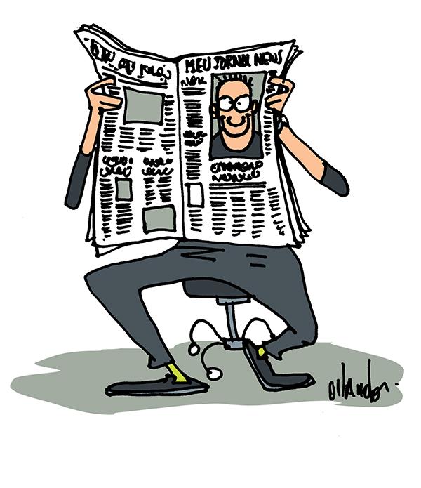 Desenhista de jornal 72