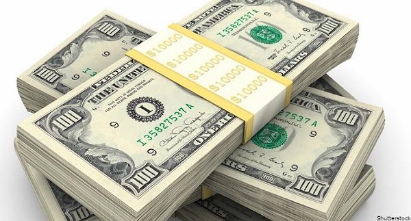 dolar shutterstock
