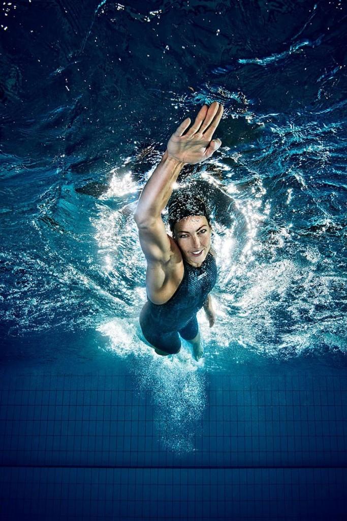 Alshammar vai nadar pela sexta vez uma Olimpíada - Foto: Arena/Divulgação