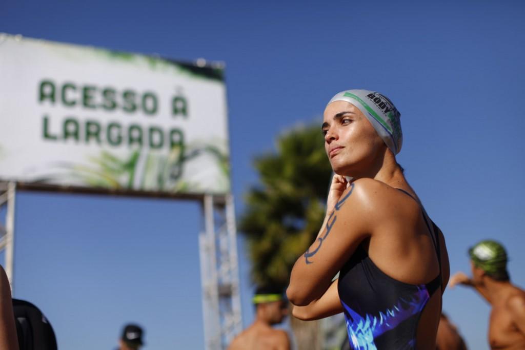Atleta no Desafio do Lago 2015 - Foto: Jefferson D. Modesto