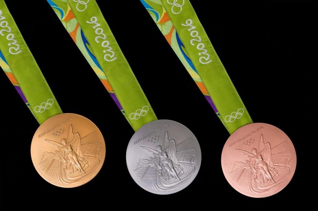 As medalhas olímpicas - Foto: Comitê Organizador Rio-2016