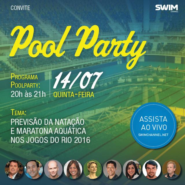 Vem ai a sexta edição do Pool Party!