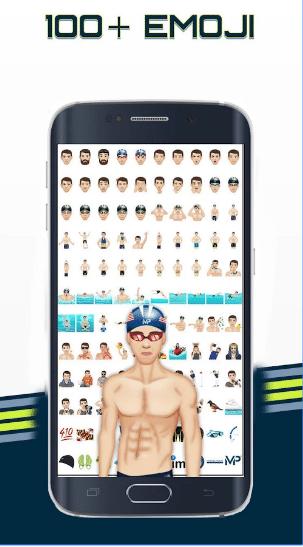 São mais de 100 emojis disponíveis no app - Foto: Reprodução