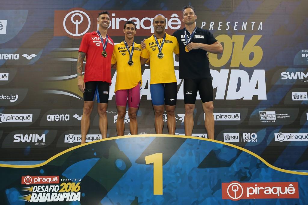 Os campeões individuais do Raia Rápida - Foto: Satiro Sodré/SSPress/Effect Sport
