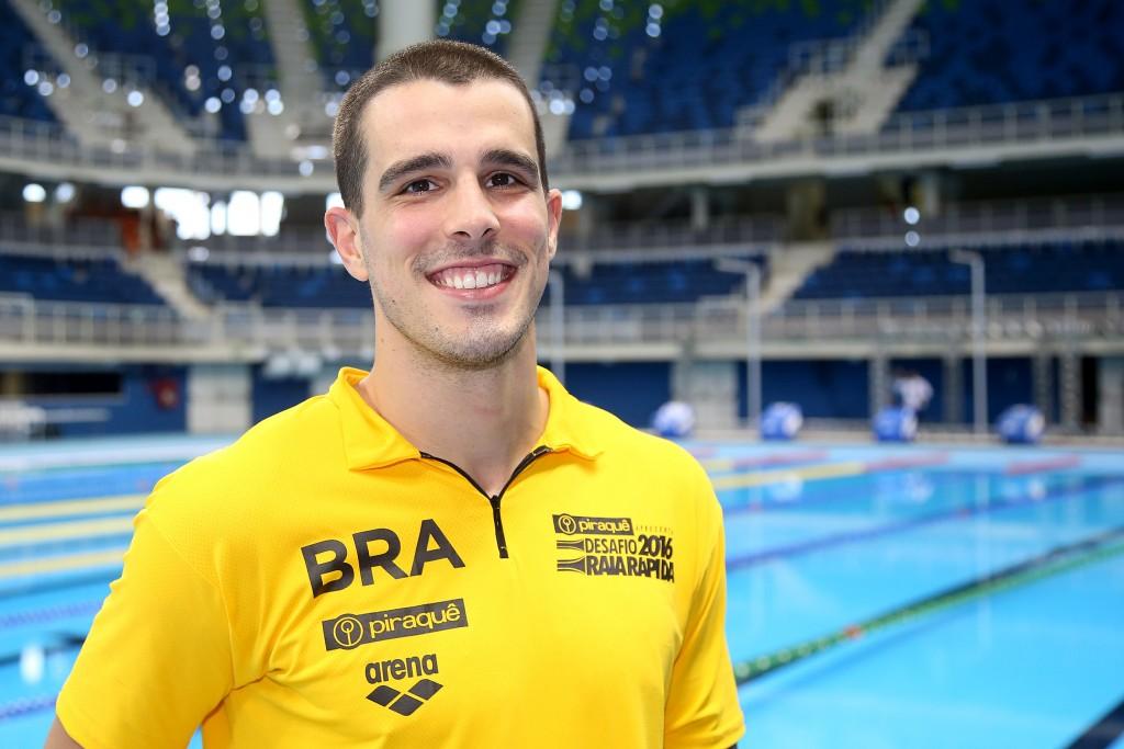 Fratus é o brasileiro na disputa do 50m livre - Foto: Satiro Sodré