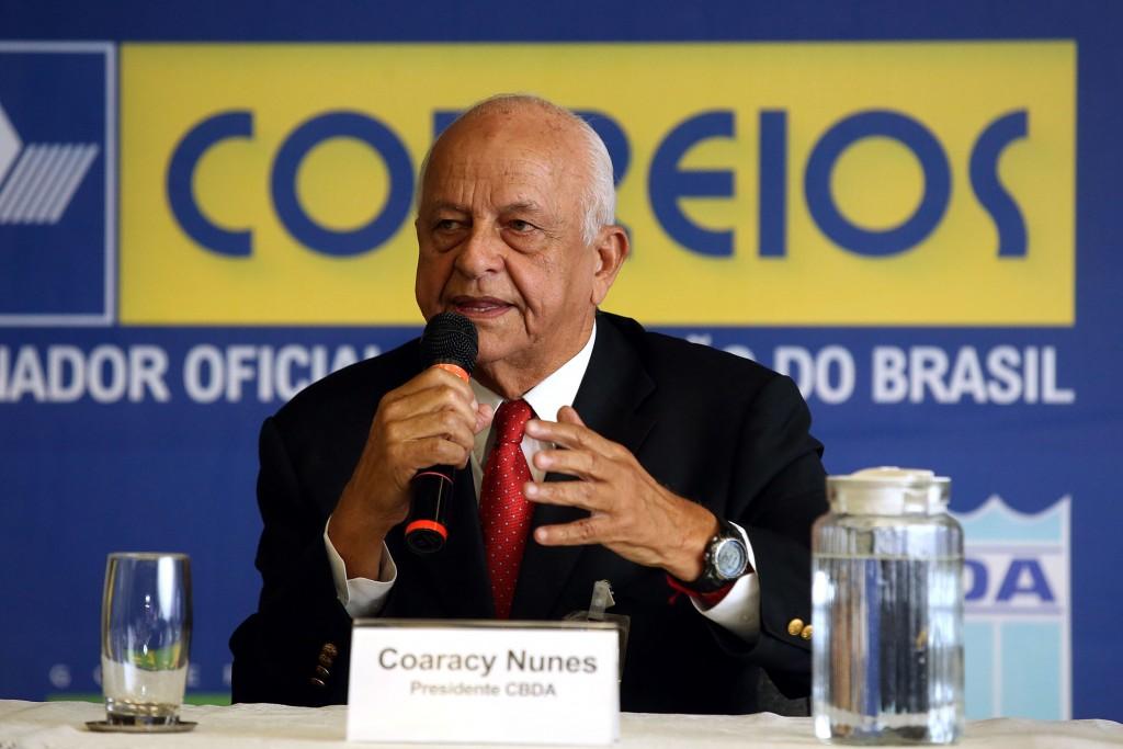 O presidente da CBDA Coaracy Nunes Filho – Foto: Satiro Sodre/SSPress