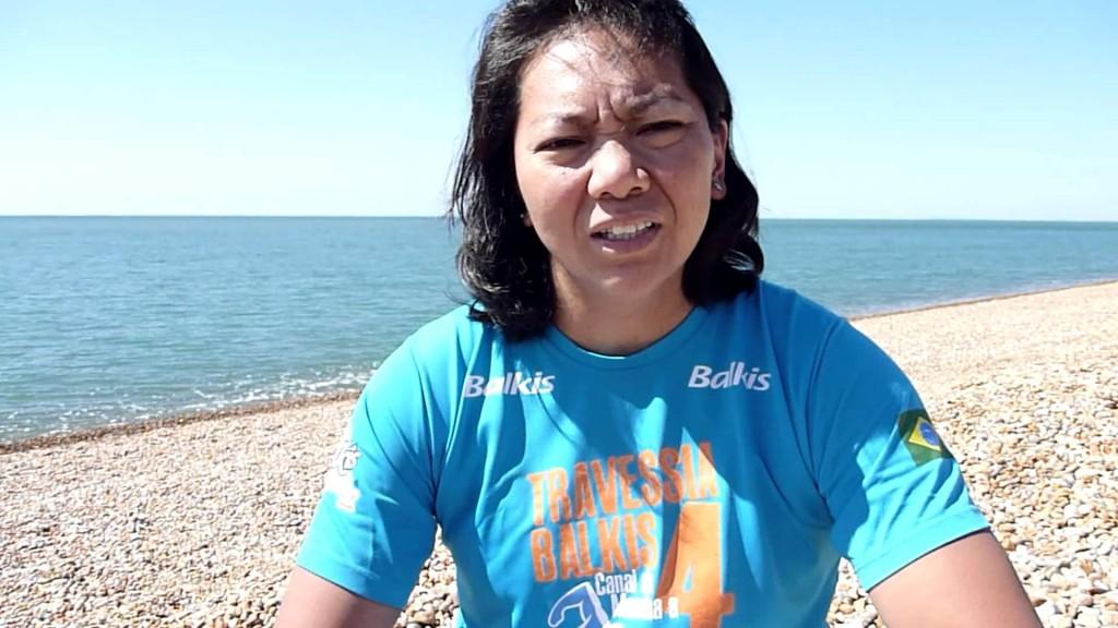 A nadadora Marta Izo - Foto: Reprodução