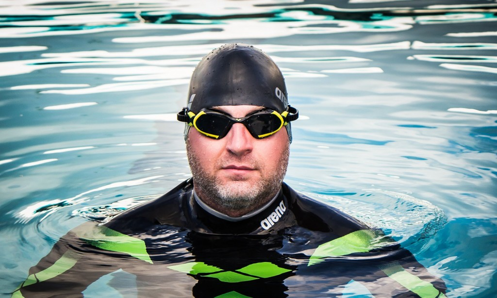 O nadador Ben Hooper - Foto: Island Breeze Photography