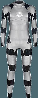 O traje Triwetsuit Sams Carbon da Arena – Foto: Reprodução/Arena