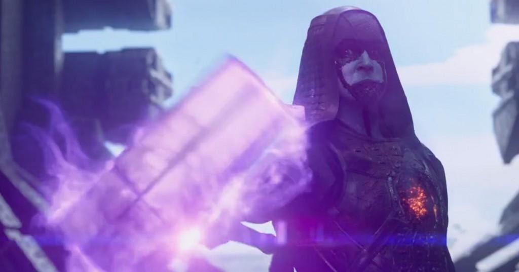 Ronan (Lee Pace) quer o que todo vilão quer: destruir o mundo