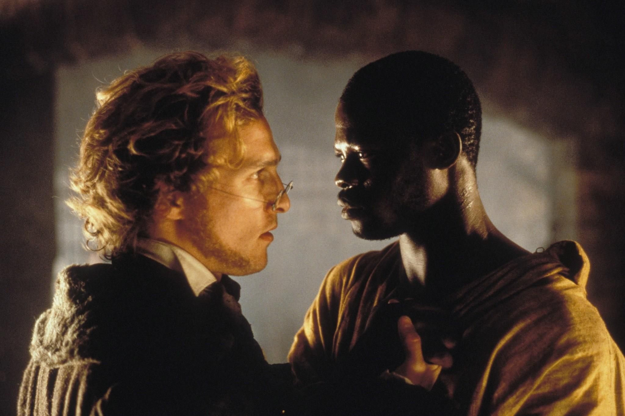 an analysis of the horror of slaves in the film amistad by steven spielberg Film analysis: maria full of grace  film) amistad is the name of a ship on course from cuba to usa and it is carrying the cargo of  steven spielberg's.