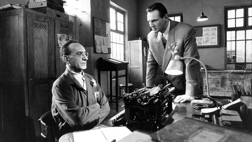 schindler's list (1993) liam neeson, ben kingsley credit: universal pictures/courtesy neal peters collection