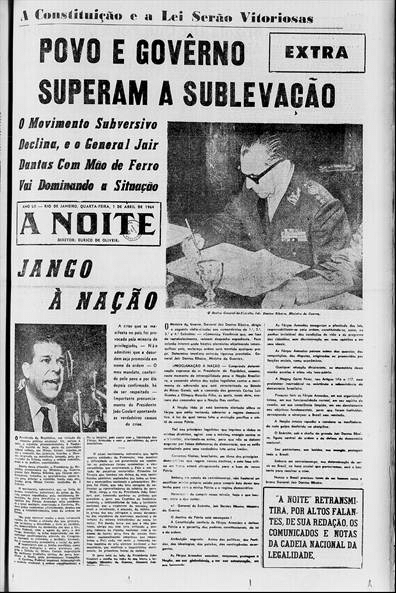press - a noite - 1 de abril de 1964