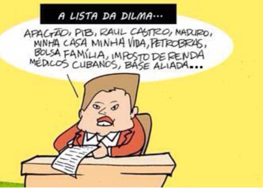 Seleção da Dilma para a Copa