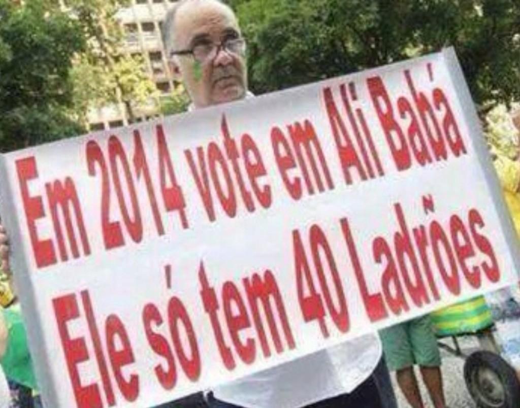 Eleições 2014! Vou votar no Ali Babá!