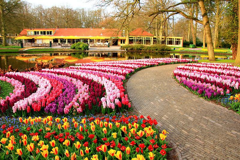 Visite o jardim mais bonito do mundo  Viagem  UOL Viagem