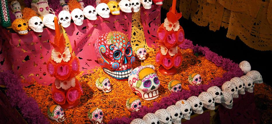 alta- caveira- dia dos mortos - mexico
