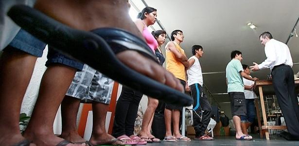Revista na confecção encontra peruanos em regime de trabalho análogo à escravidão