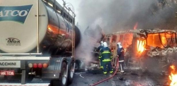 Acidente aconteceu na PR-323, no trecho entre Cafezal do Sul e Iporã