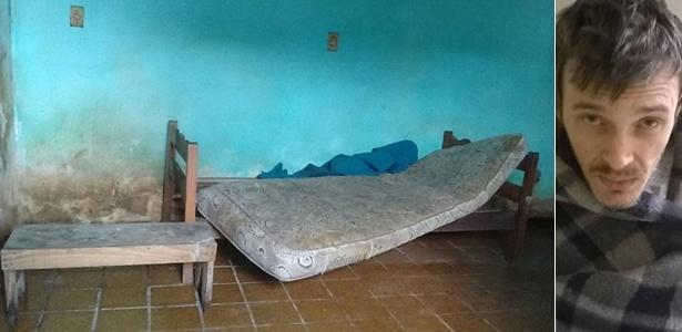 Local onde Armandinho foi mantido por cerca de 20 anos, em Guarulhos, na Grande São Paulo