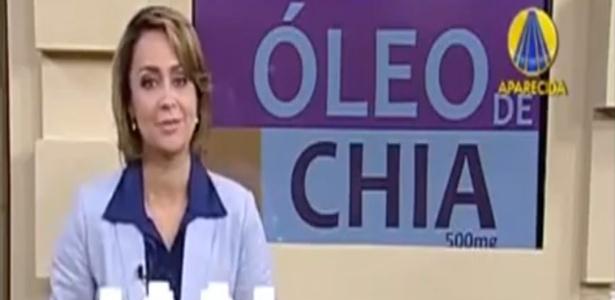17.jul.2013 - Mulher erra merchandising e fala palavrão na emissora católica TV Aparecida
