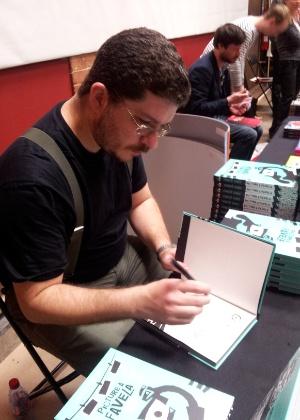 André Diniz aposta no site Muzinga para lançar histórias em quadrinhos na web