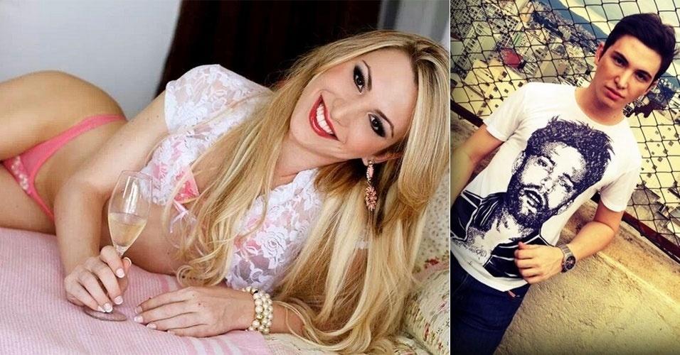 20.mai.2014 - Rebekah Shelton, brasileira que participou do