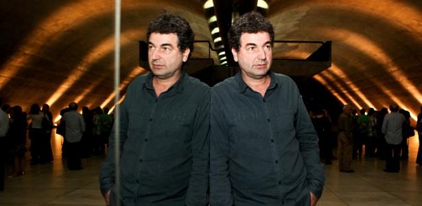2.nov.2013 - Paulo Cesar de Araújo, historiador e escritor de biografias, no auditório Simón Bolívar do Memorial da América Latina, em São Paulo (SP)