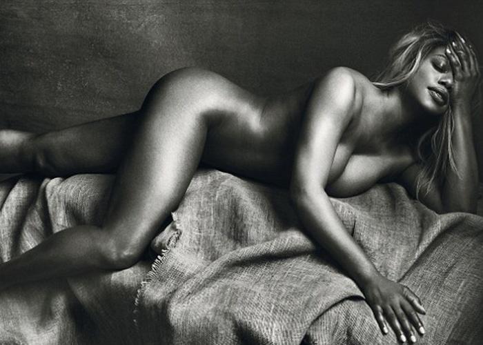 16.abr.2015 - A atriz Laverne Cox foi eleita uma das 100 pessoas mais influentes do mundo pela revista Time. A beldade transex apareceu na lista por compartilhar a história de descoberta de sua sexualidade. A estrela do seriado norte-americano