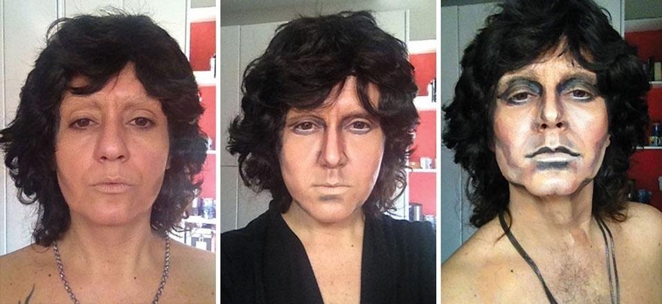 12. O músico Jim Morrison, da banda The Doors