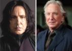 """Ator Alan Rickman, o Snape de """"Harry Potter"""", morre aos 69 anos - Montagem"""