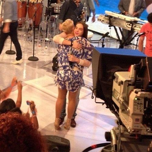 """12.dez.2012 - Wesley Safadão foi uma das atrações de uma das edições quando Xuxa estava à frente do """"TV Xuxa"""", exibido pela Rede Globo"""