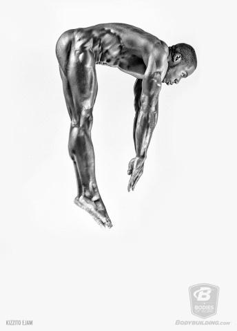 """25.abr.2016 - """"Ele [o ensaio fotográfico] mostra beleza, força e o potencial dos corpos humanos. Ele vai te inspirar a fazer o melhor de si"""", completa o post do site"""
