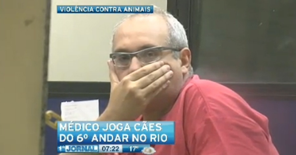 Rogério Povilaitis Dominguez, ortopedista que atirou dois cachorros do sexto andar de um prédio em Copacabana, no Rio