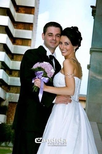Eduardo Carra Testolin e Soilamára Talavitz Testolin casaram em Farroupilha (RS) no dia 20 de fevereiro de 2010.