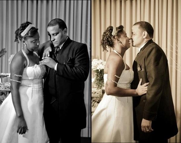 Renato Gonçalves da Silva e Raquel Beatriz Adão Gonçalves da Silva casaram no Rio de Janeiro (RJ) no dia 7 de maio de 2011.