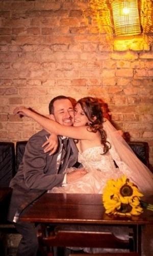 Casados desde 4 de maio deste ano, Cesar Henrique e Emelyn de Souza são de Suzano (SP).