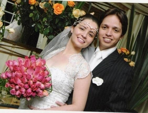 Cássia Líbia Sprovidello de Morais e Dagson Bruno Cassiano de Morais, de Araçatuba (SP), casaram-se em 22 de maio de 2010.