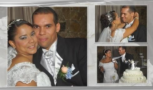 Edson e Katiurcia Lopes, de Recife (PE), casaram-se em 16 de junho de 2012.