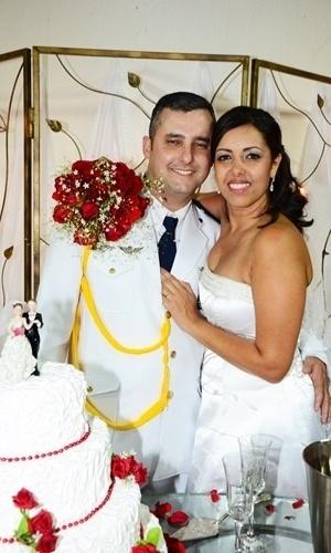 Leandro e Amanda Lima são de Guarulhos (SP) e casaram em 20 de outubro de 2012.