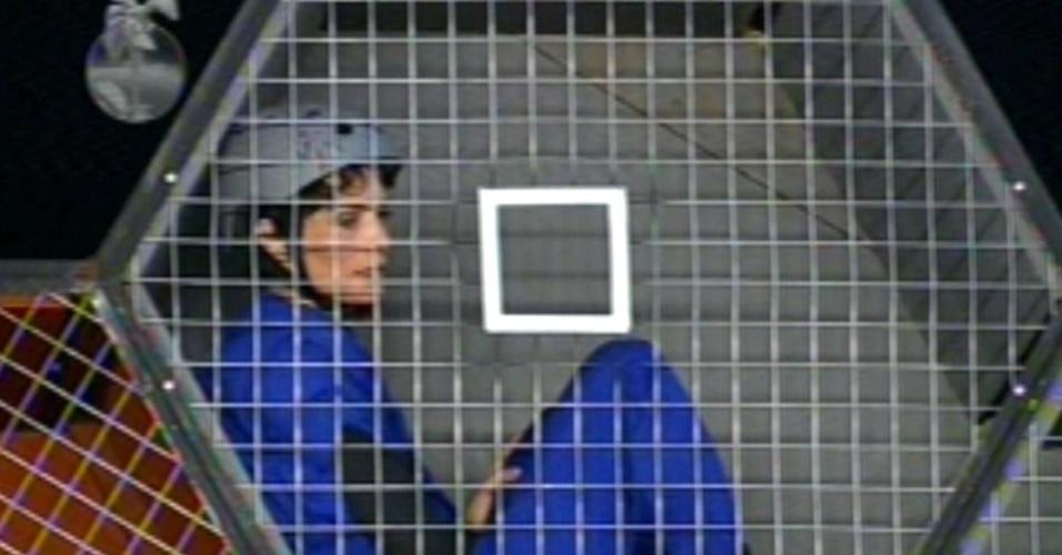 28.jun.13 - Lu Schievano perdeu a prova por apenas uma bolinha.