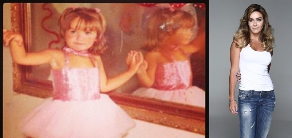 """9.jul.13 - A modelo e apresentadora Luize Altenhofen, que completou 34 anos no último dia 6 de julho, comemorou a data com uma foto relembrando os dias de """"bailarina"""". Na legenda, a gata afirma que foi uma boa filha e que sempre se comportou bem. """"Baladas, algumas e olhe lá.. Namorados? Menos que em uma mão.. Primeiro beijo depois dos 18, claro"""", escreveu Luize, antes de agradecer aos pais por tudo que recebeu. A ex-miss Brasil não revelou quantos anos tinha quando a foto foi tirada"""